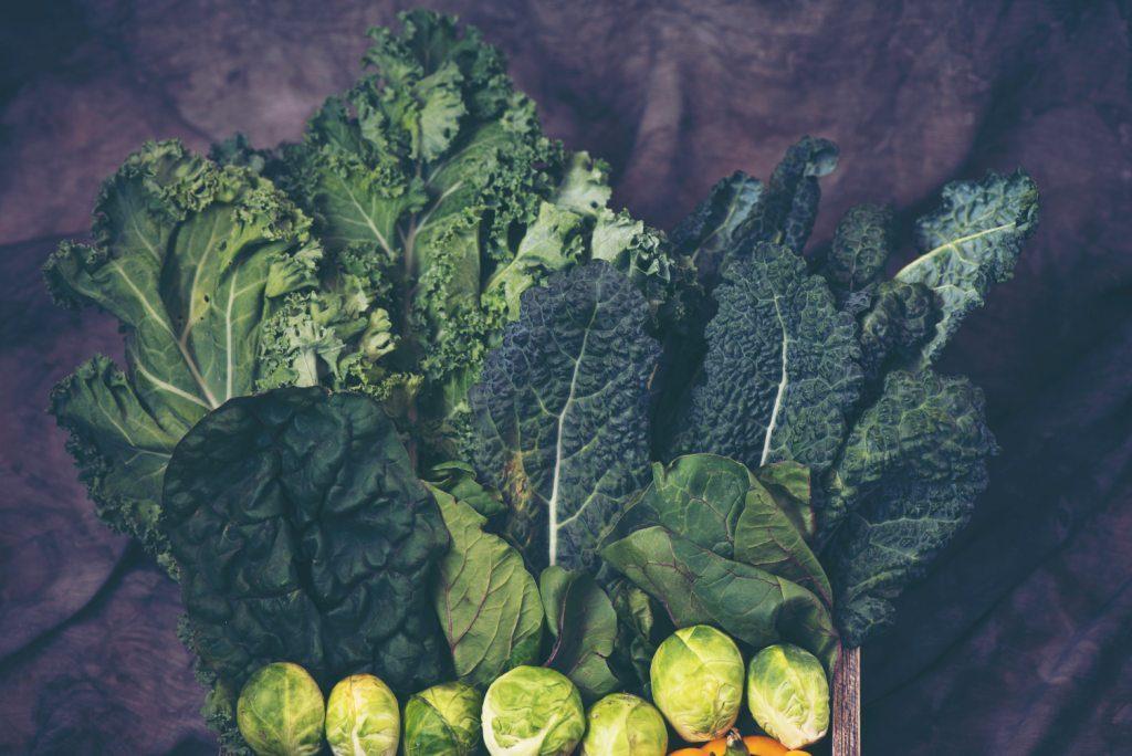 kwas foliowy znajdziesz w zielonych warzywach