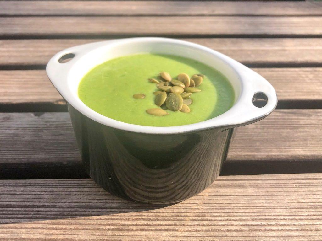 zdrowa zupa z awokado